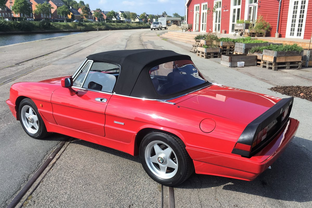 1986 Alfa Spider 2000 QV LHD For Sale (picture 3 of 6)