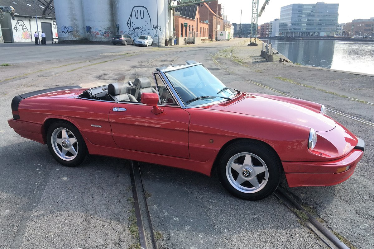 1986 Alfa Spider 2000 QV LHD For Sale (picture 4 of 6)