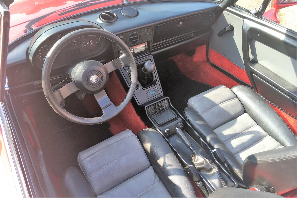 1986 Alfa Spider 2000 QV LHD For Sale (picture 6 of 6)