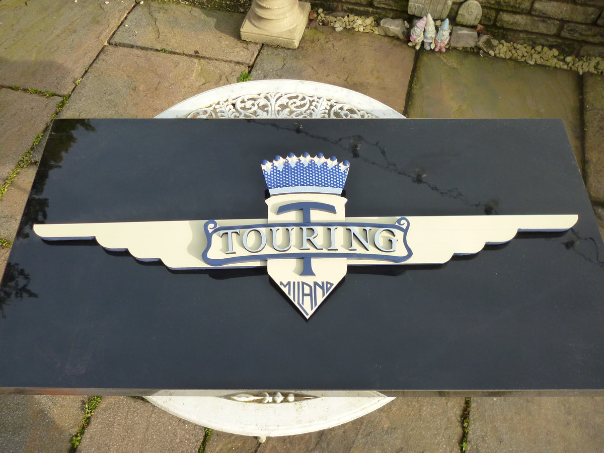 Touring Of Milan 3D Emblem For Sale (picture 1 of 3)