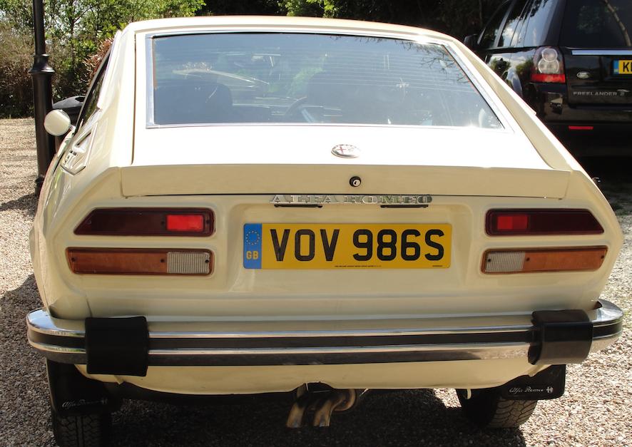 1977 ALFA ROMEO ALFETTA GTV 2 Litre '77 CREAM RHD SOLD (picture 3 of 6)