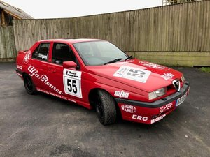 1995 Alfa Romeo 155 Series II 2 litre Twin Spark Homage For Sale by Auction