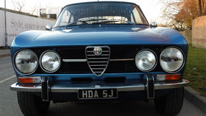 1971 Alfa Romeo 1750 GTV MK11 Total Ground Up Restoration         SOLD