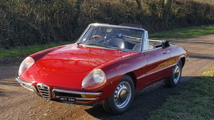 1969 1750 Spider Veloce Boat tail (Duetto) SOLD