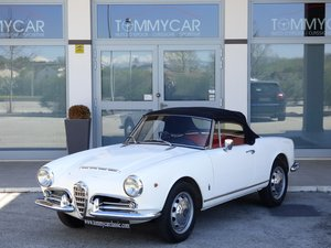 Alfa Romeo Giulia spider 1600 - Freni a disco -1965 For Sale