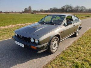 1981 Alfa Romeo GTV6  2.5 LTR SOLD