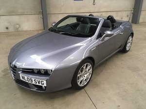 2009 Alfa Romeo Spider JDTM at Morris Leslie 23rd February SOLD by Auction