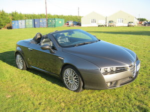 2007 ALFA ROMEO SPIDER 2.2 JTS. 6 SPEED SOLD