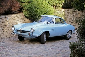 1963 - Alfa Romeo Giulia 1600 Sprint Speciale SOLD by Auction