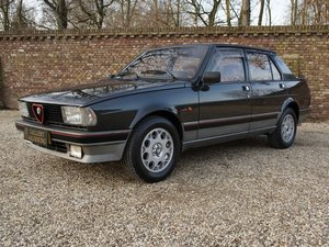 1987 Alfa Romeo Giulietta 2.0 Turbo Autodelta only 361 made. For Sale