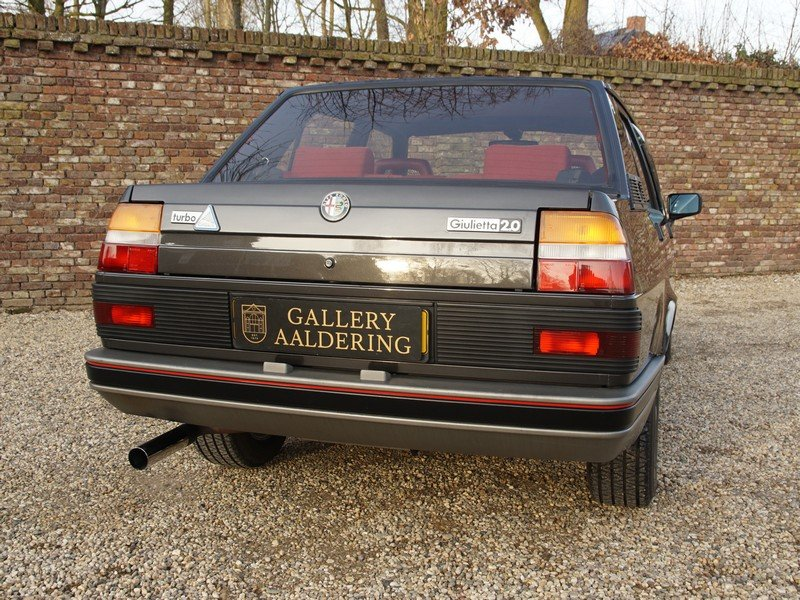 1987 Alfa Romeo Giulietta 2.0 Turbo Autodelta only 361 made. For Sale (picture 6 of 6)