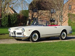 1964 Alfa Romeo 2600 Spider For Sale by Auction