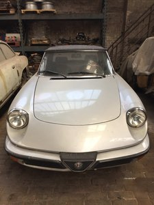 1985 Alfa Romeo spyder 2.0 project For Sale