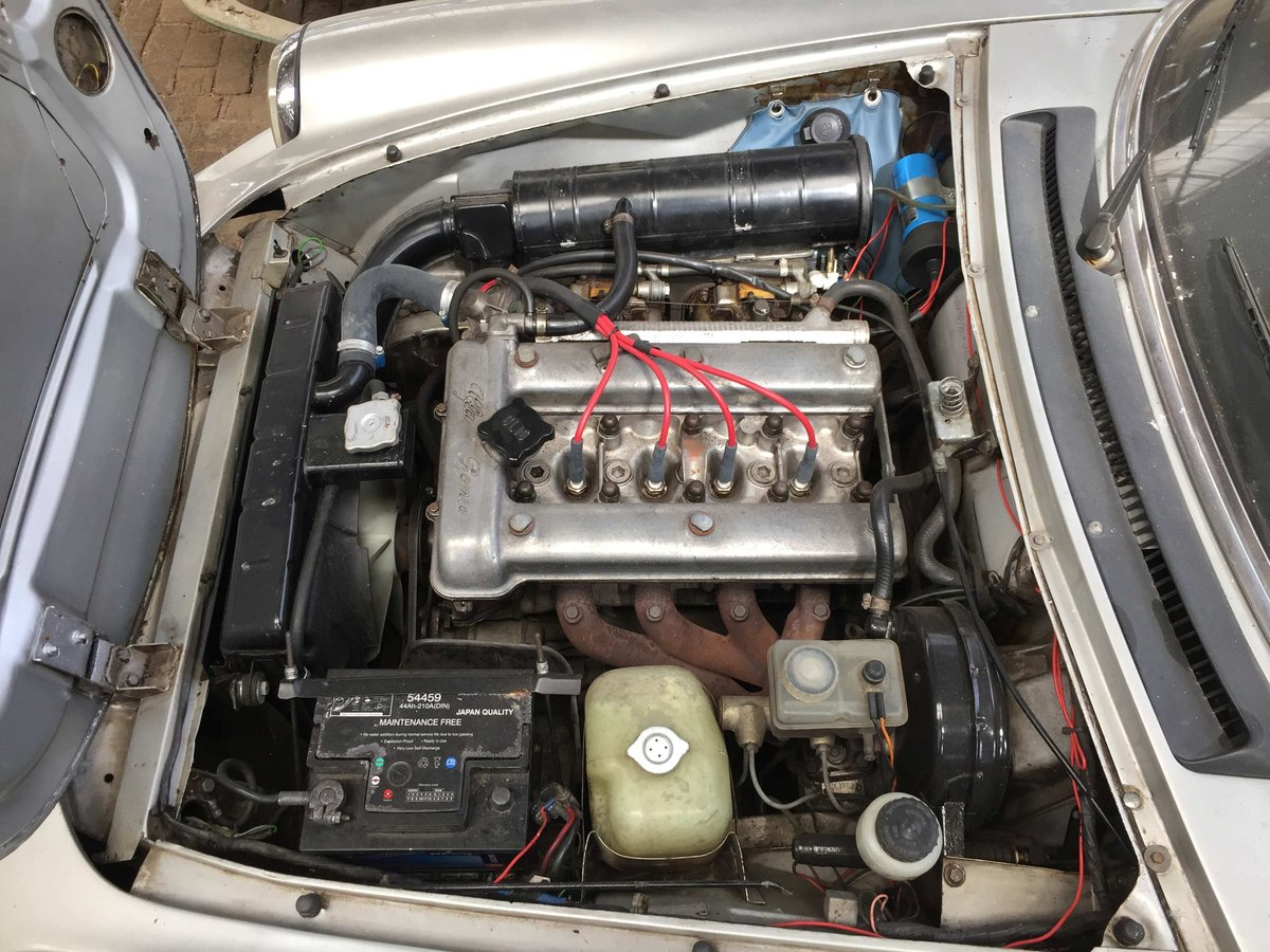 1985 Alfa Romeo spyder 2.0 project For Sale (picture 3 of 6)