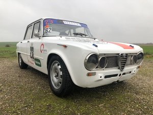 1964 Alfa Romeo Guilia TI Super FIA racecar. For Sale