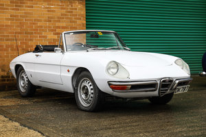1967 Alfa Romeo 1600 Spider RHD (Duetto)  For Sale by Auction