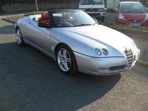 2004 53-reg Alfa Romeo Spider 3.2 V6 24v Lusso Phase 3 For Sale