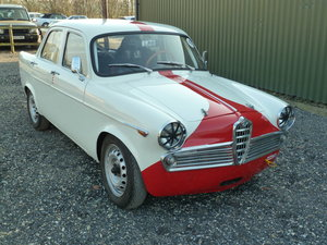 1960 RACING ALFA ROMEO GIULIETTA TI For Sale
