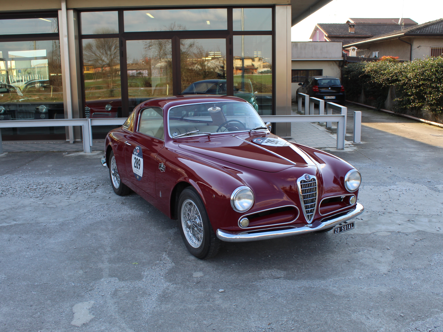 1952 Alfa Romeo 1900 C Pinifarina For Sale (picture 1 of 6)
