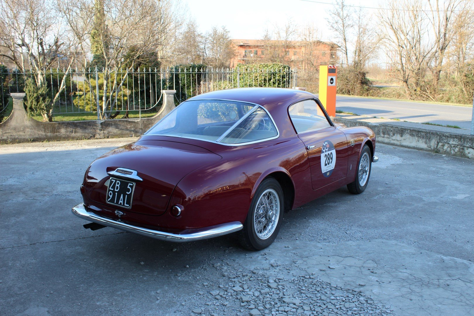 1952 Alfa Romeo 1900 C Pinifarina For Sale (picture 4 of 6)