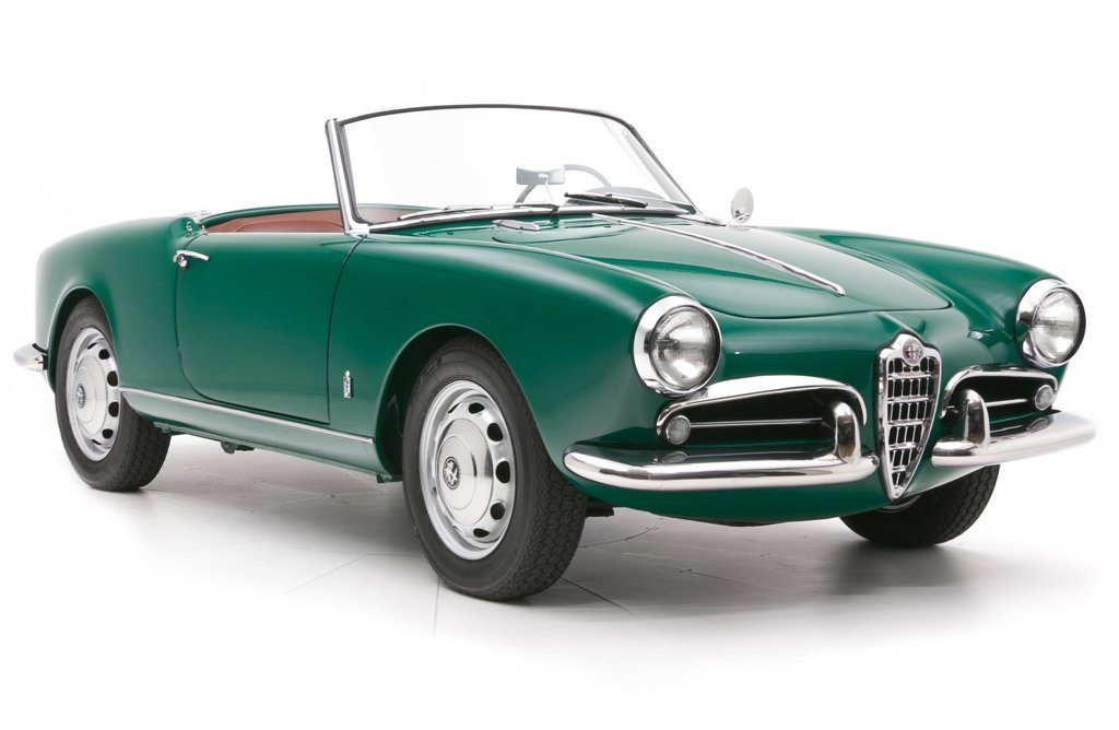 1957 Alfa Romeo Giulietta Spyder = Prepared for Rallies $129 For Sale (picture 1 of 6)