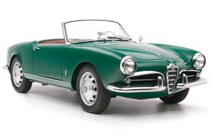 1957 Alfa Romeo Giulietta Spyder = Prepared for Rallies $129 For Sale