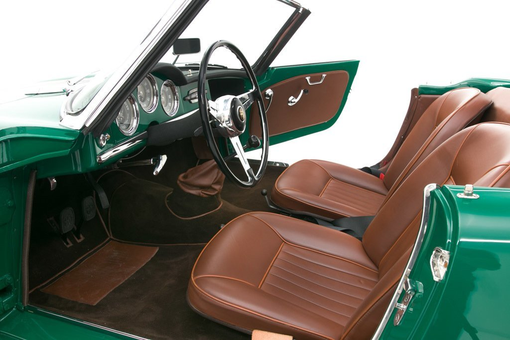 1957 Alfa Romeo Giulietta Spyder = Prepared for Rallies $129 For Sale (picture 3 of 6)