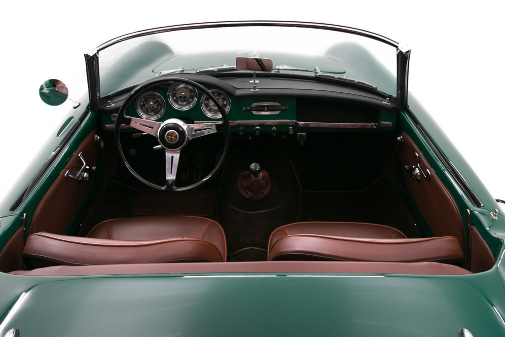 1957 Alfa Romeo Giulietta Spyder = Prepared for Rallies $129 For Sale (picture 5 of 6)