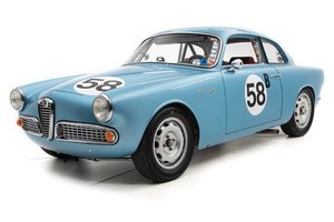 1958 Alfa Romeo Giulietta Sprint  = Race + Rally  $95k For Sale