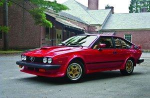 1985 Alfa Romeo GTV 6 2.5 Callaway Twin Turbo For Sale