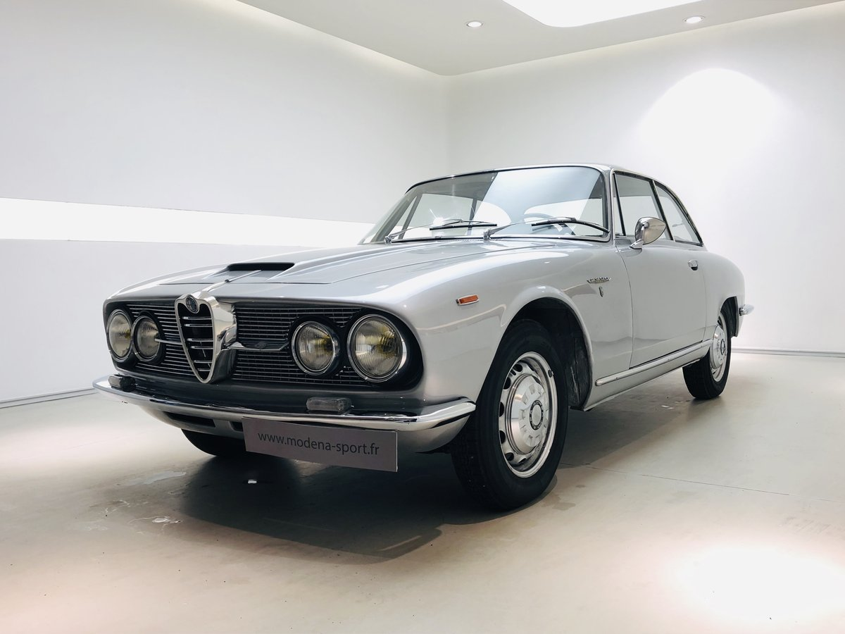 1964 ALFA ROMEO 2600 COUPE SPRINT For Sale (picture 1 of 6)