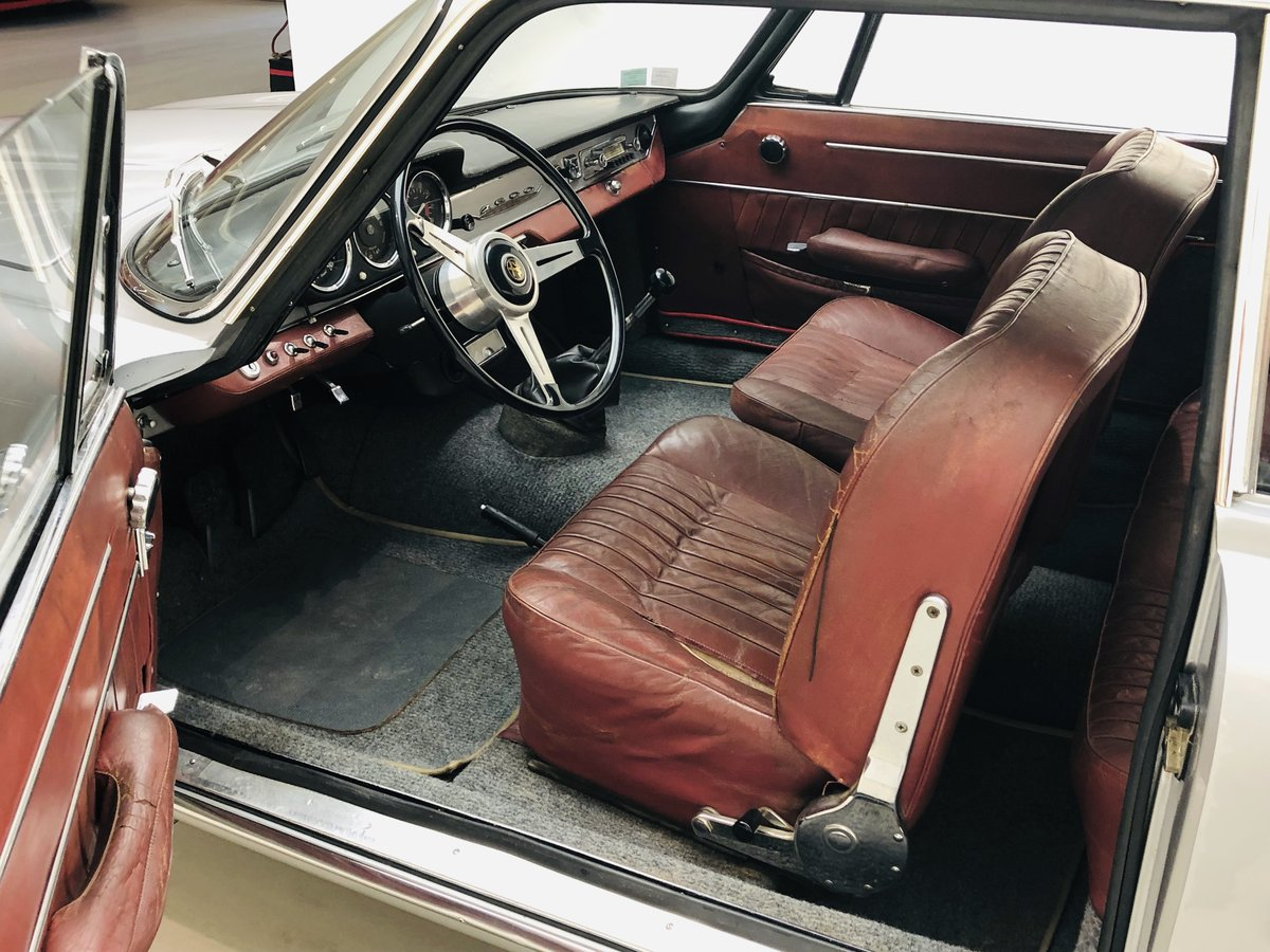 1964 ALFA ROMEO 2600 COUPE SPRINT For Sale (picture 4 of 6)