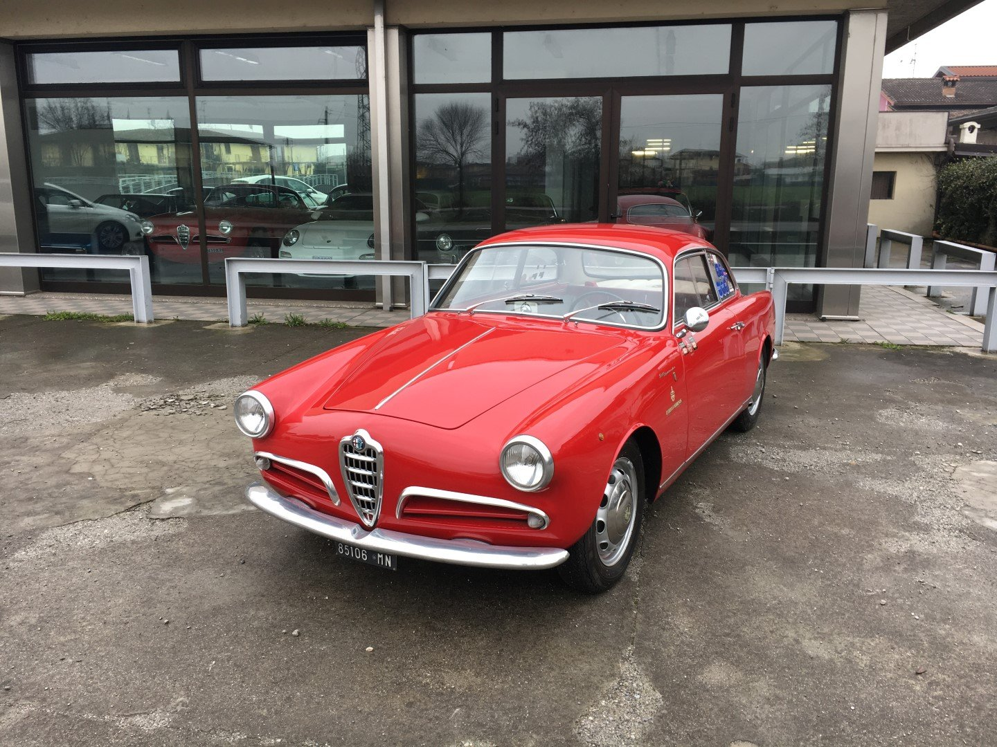 1956 Alfa romeo giulietta sprint veloce alleggerita sva For Sale (picture 1 of 6)