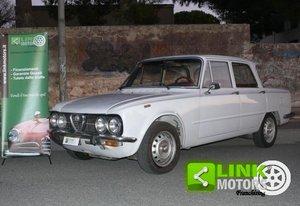 1975 Alfa Romeo Giulia Nuova Super 1300 For Sale