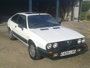1985 Alfa Romeo Alfasud Sprint Cloverleaf at ACA 13th April For Sale