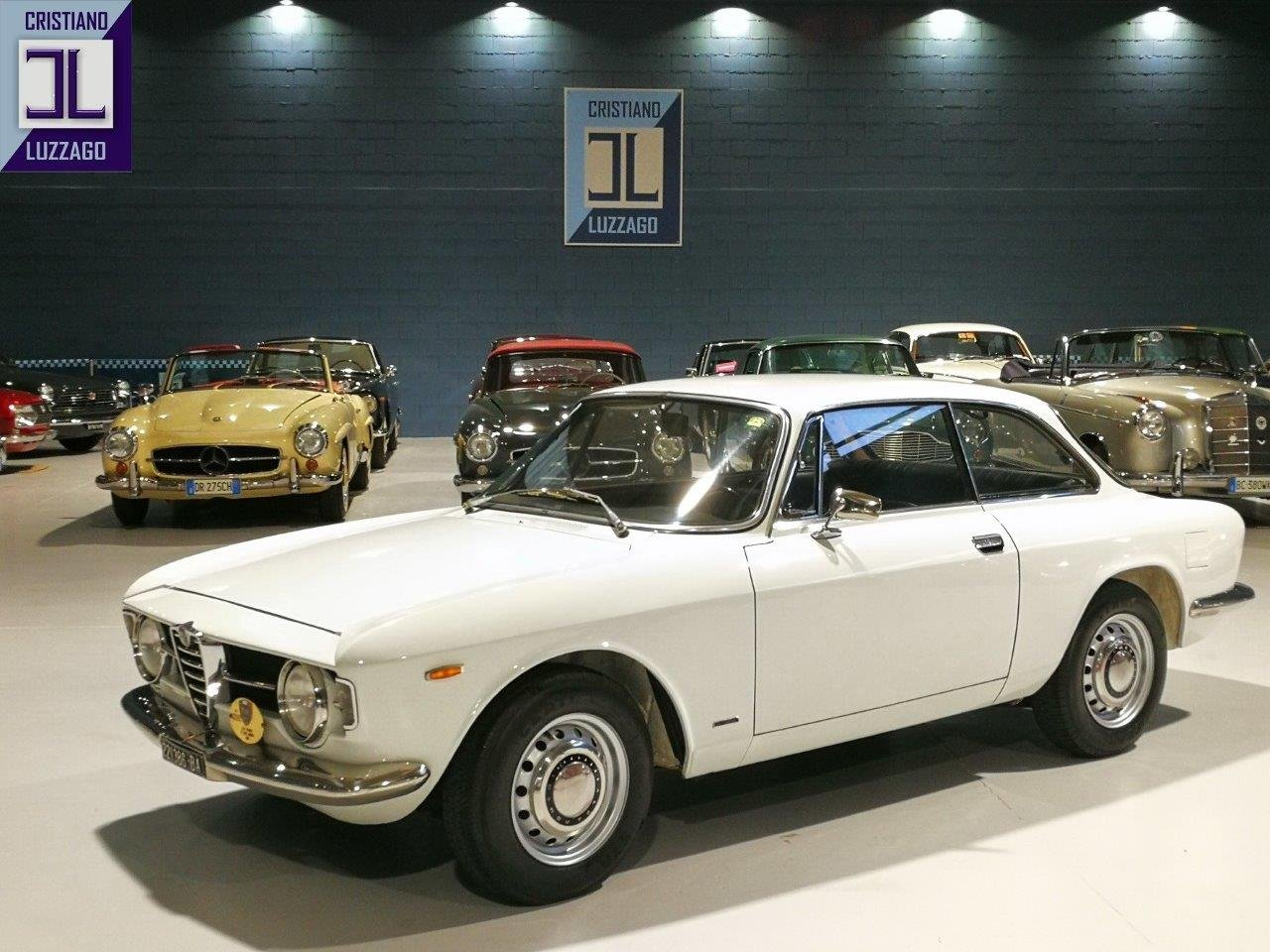 1968 ALFA ROMEO GT JUNIOR 1300 SCALINO SOLD (picture 1 of 6)