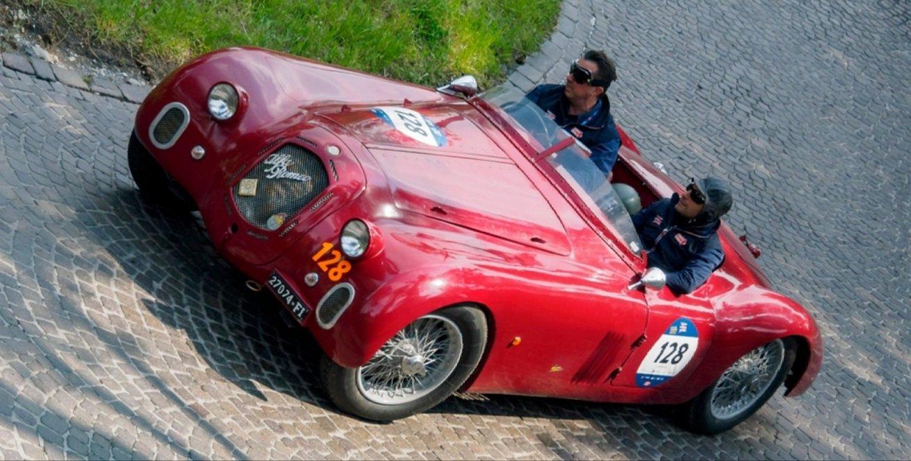 1939 ALfa Romeo 2500 SS Ala Spessa For Sale (picture 1 of 6)
