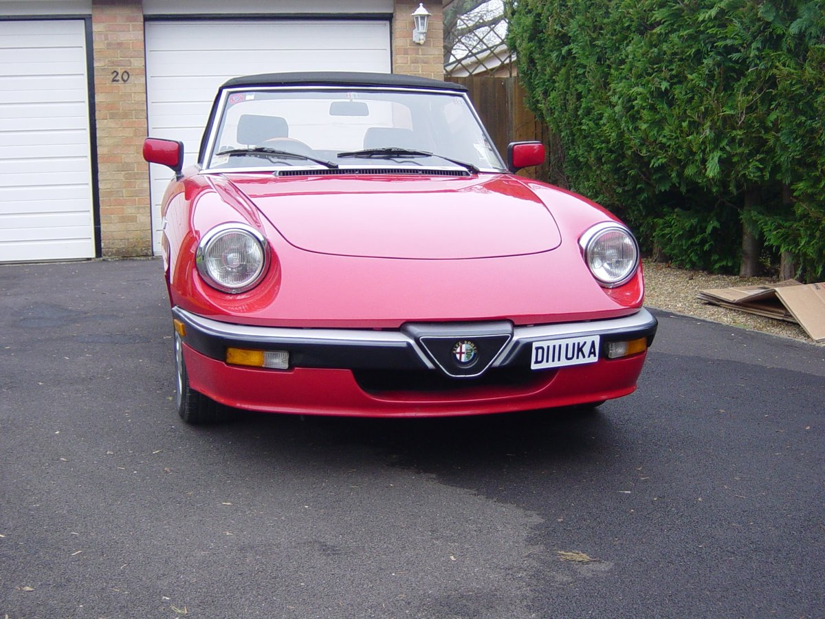 1986 Alfa Romeo series 3 Spider  SOLD (picture 6 of 6)
