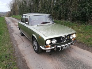 1972 Alfa Romeo Berlina 2000 RHD For Sale