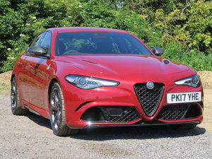 2017 Alfa Romeo Giulia Saloon 2.9V6 BiTurbo 510 SS EU6 Quadrifogl For Sale