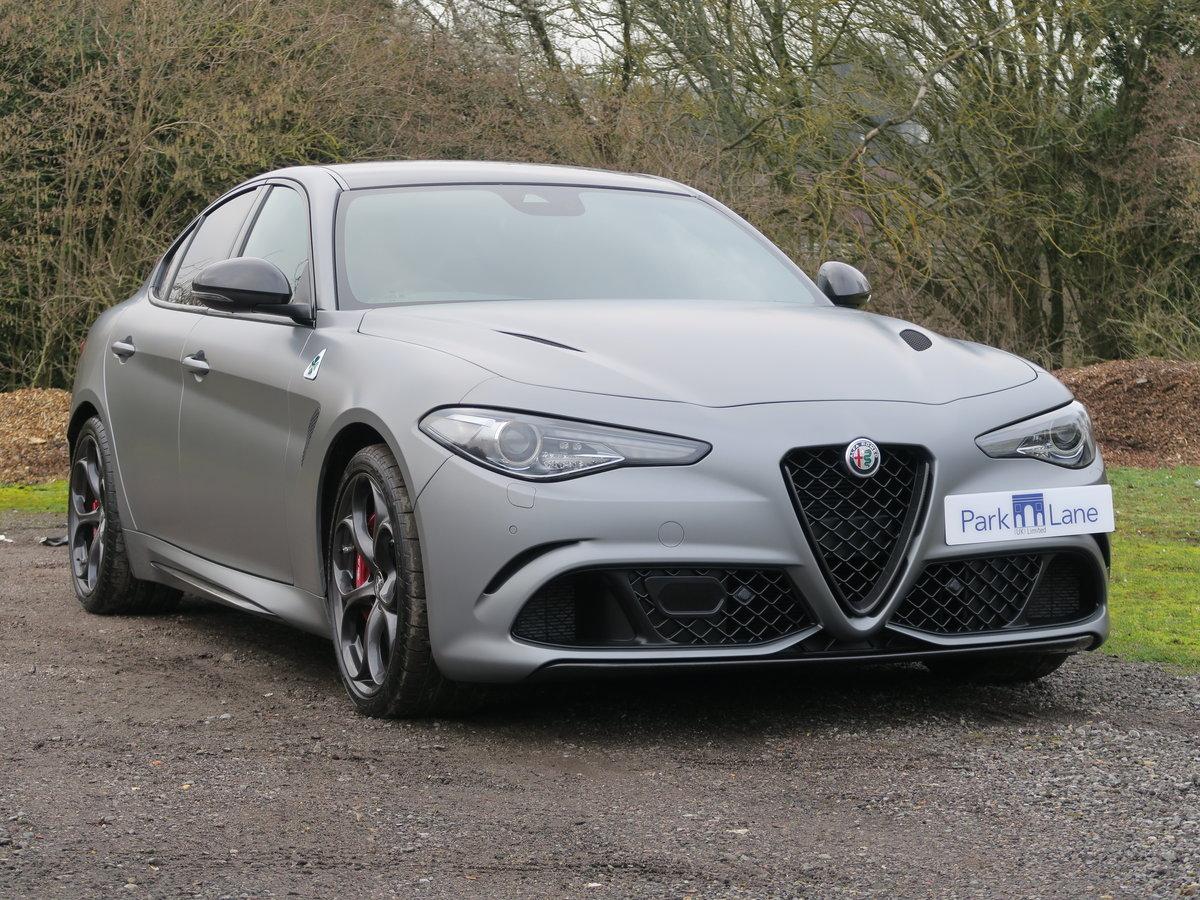 2019 Alfa Romeo Giulia 2.9V6 BiTurbo 510 Quadrifoglio NRING SOLD (picture 1 of 6)