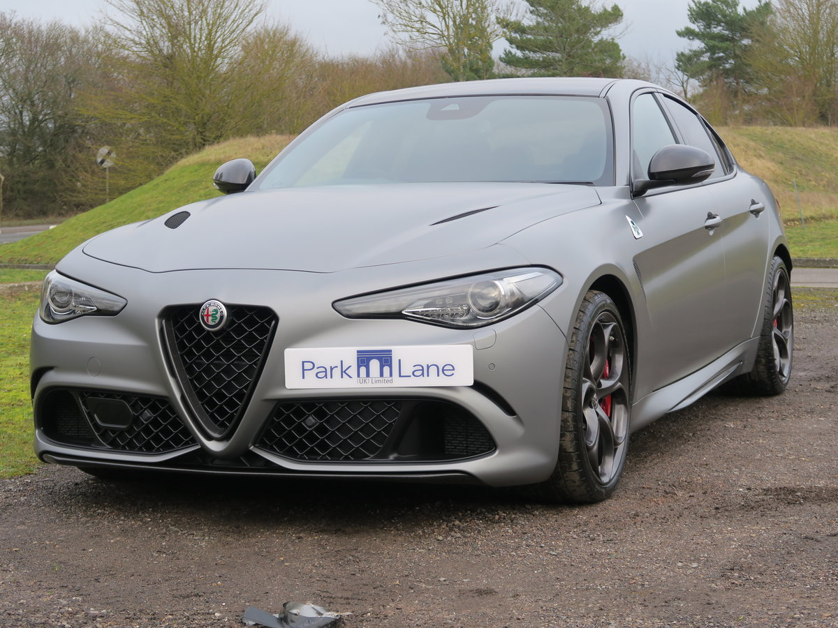 2019 Alfa Romeo Giulia 2.9V6 BiTurbo 510 Quadrifoglio NRING SOLD (picture 2 of 6)