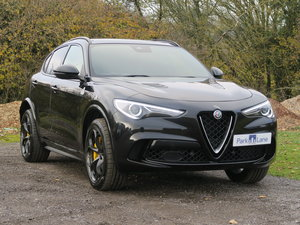 2018 Alfa Romeo Stelvio Quadrifoglio 2.9 Bi-Turbo VAT QUALIFYING SOLD