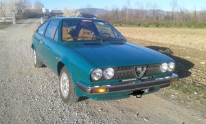 1978 One of a kind Alfasud Sprint 1351 Verde Pino color