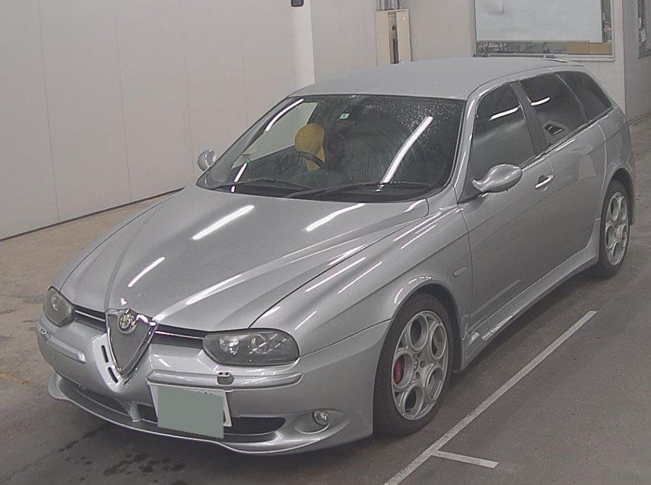 2004 ALFA ROMEO 156 SPORTWAGON GTA 3.2 * FULL BLACK LEATHER  For Sale (picture 2 of 6)