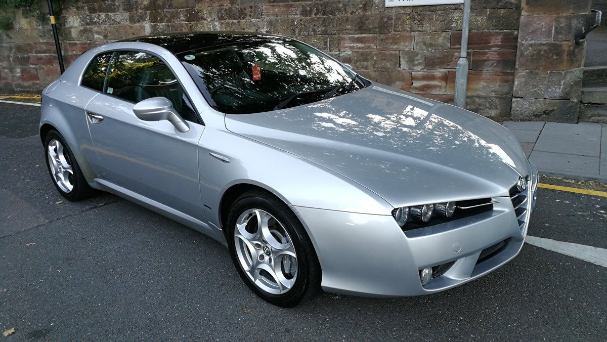 2007 Alfa Romeo Brera 2.4 JTDM SV Manual 27000 miles FSH For Sale (picture 1 of 6)