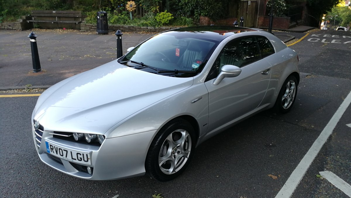 2007 Alfa Romeo Brera 2.4 JTDM SV Manual 27000 miles FSH For Sale (picture 2 of 6)