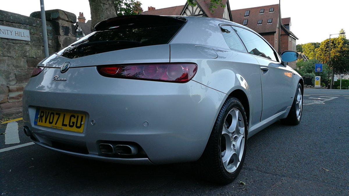 2007 Alfa Romeo Brera 2.4 JTDM SV Manual 27000 miles FSH For Sale (picture 5 of 6)