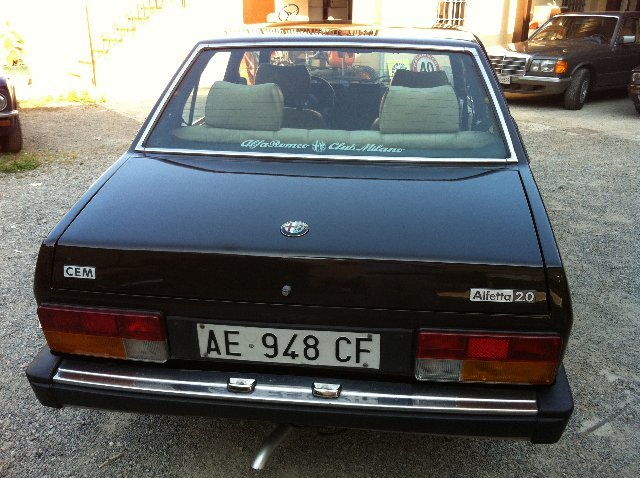 1981 1 of 110 alfetta cem For Sale (picture 5 of 6)