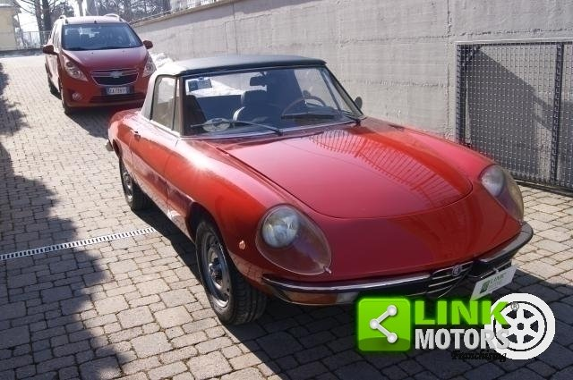 1972 Alfa Romeo DUETTO 1300 CC CODA TRONCA TARGA ORO ASI For Sale (picture 1 of 6)